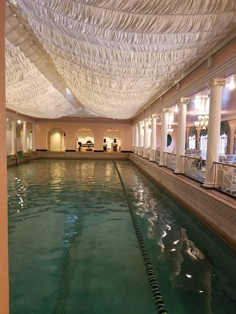 The Greenbrier: Indoor pool could use some TLC