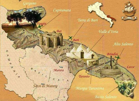 Province of BarlettaAndriaTrani Pictures Traveller Photos of