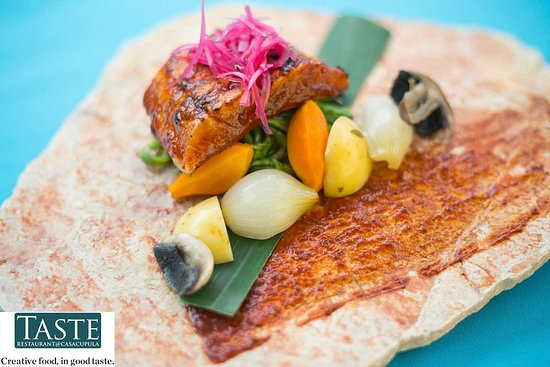 Taste Restaurant at Casa Cupula: Creative Food