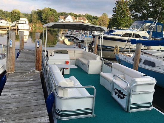 Rent the Suncruiser Pontoon boat-seats up to 13 people - Picture of