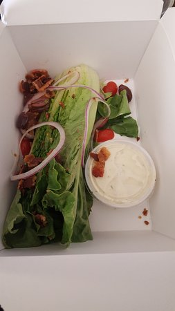 "Rocky Hill, CT: The ""Wedge"" salad.... :("