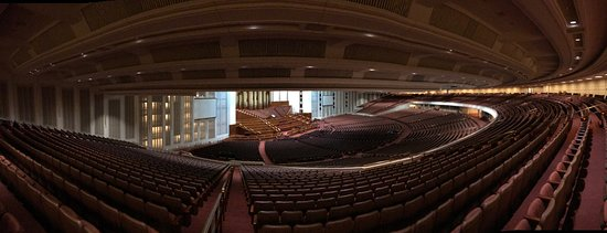 Panoramic view from the Balcony of the LDS Conference Center