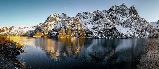 Nordland, Noruega: Evening colours - Lofoten