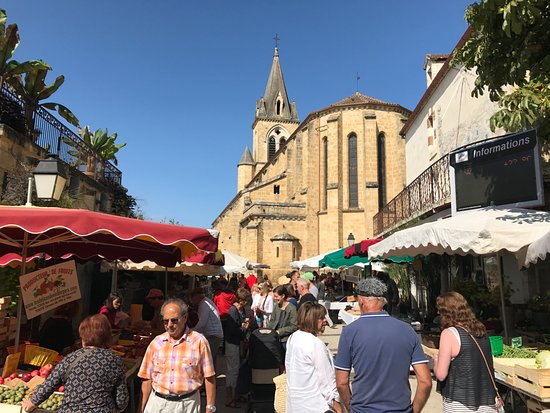 Photo taken at Prayssac market on 1st September 2017
