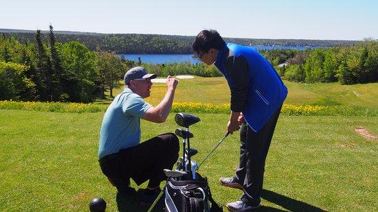 Bayside, Καναδάς: golf lesson