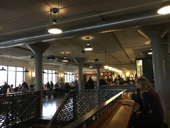 Boulevard Brewing Company: Taproom up stairs