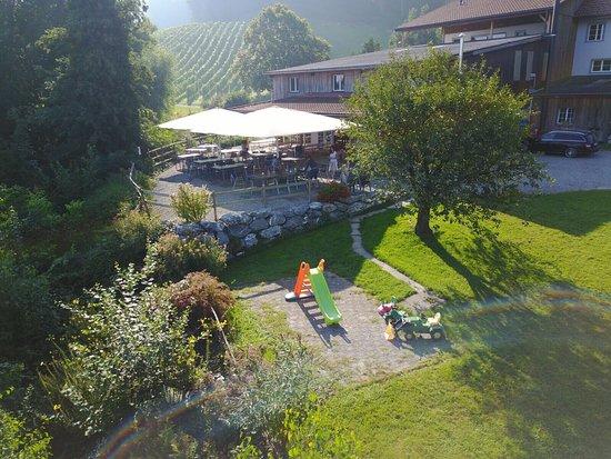 Steckborn, Schweiz: Gartenwirtschaft