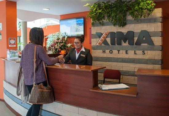 XIMA Cusco Hotel: Recepción