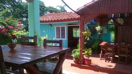 Villa las Flores: terraza