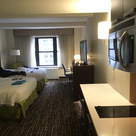 pix of double queen room no sofa bed our view and breakfast rh tripadvisor com my