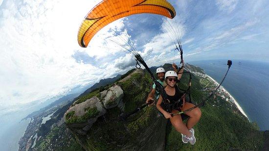 Sao Conrado's Tandem Flight Rio