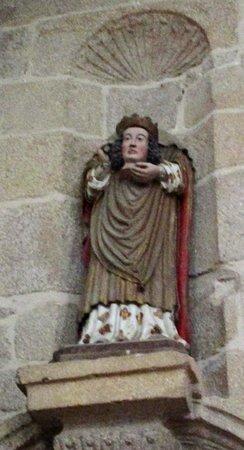 Ploumilliau, Frankreich: Saint Milliau portant sa tête
