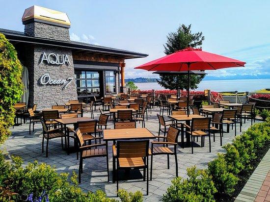 Ocean7 Restaurant, AQUA Bistro & Wine Bar: AQUA Bistro Patio