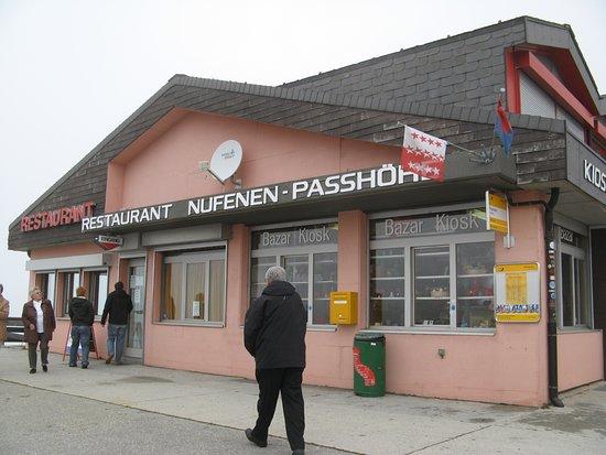 Ulrichen, Suiza: Nufenenpass - Passhöhe