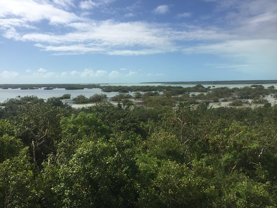 North Caicos: Big pond