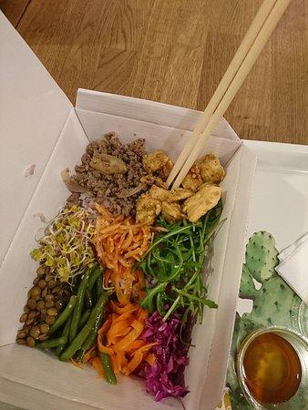 Oriental Spoon Restaurant: bimbimbap beef &chicken
