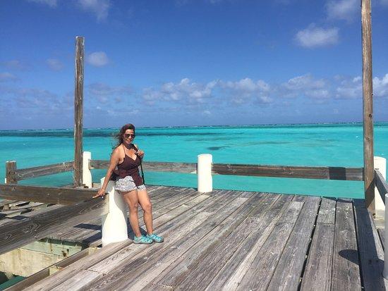 North Caicos: Blue on blue