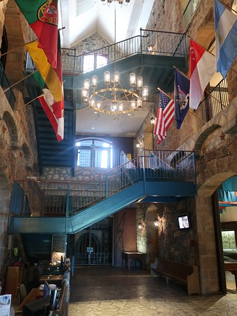 The Culinary Institute of America at Greystone : The Vintage Hall is impressive.