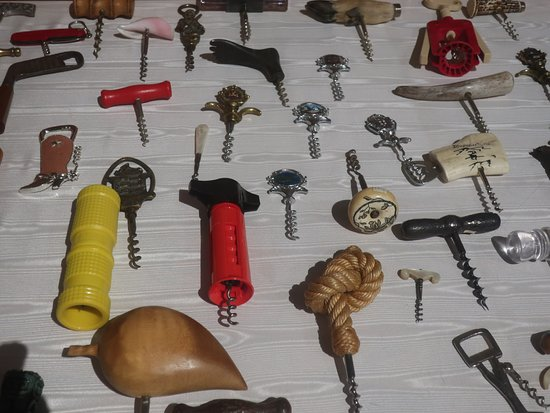 The Culinary Institute of America at Greystone : A small museum of corkscrews.