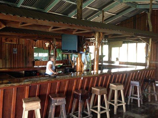Rustic bar setting