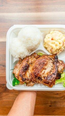 Apple Valley, Californië: Ono Hawaiian BBQ Hawaiian BBQ Chicken