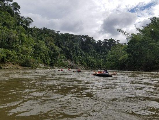Napo Province, Équateur : Tubing!
