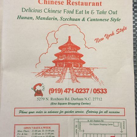 Chinese Restaurants In Durham Region