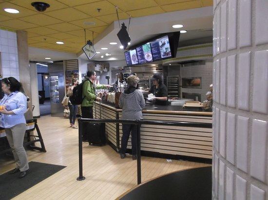Cpk Counter Area Picture Of California Pizza Kitchen