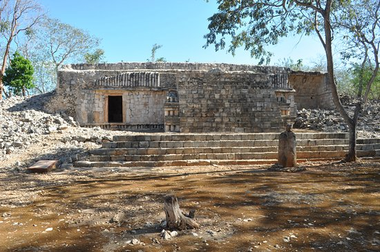 Hecelchakan, Mexiko: Xcalumkin
