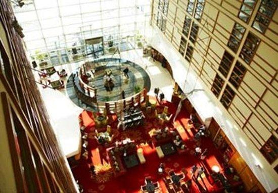 London Heathrow Marriott Hotel: Lobby