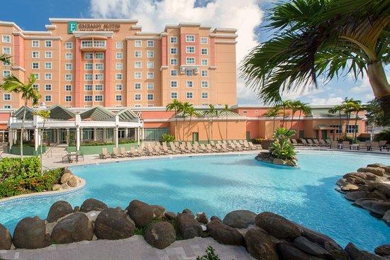 Emby Suites By Hilton San Juan Hotel Isla Verde Puerto Rico Carolina Reviews Photos Rate Comparison Tripadvisor