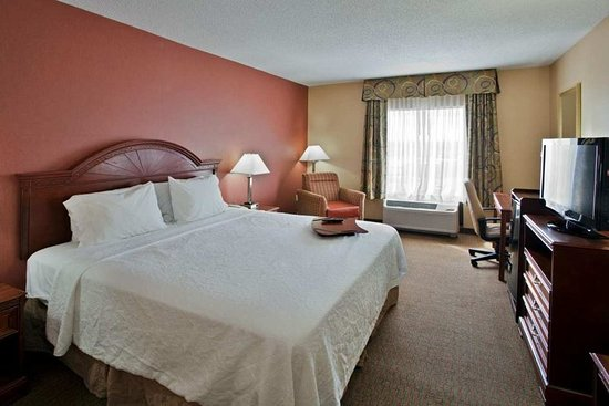 Hampton Inn Suites Springboro: Guest room