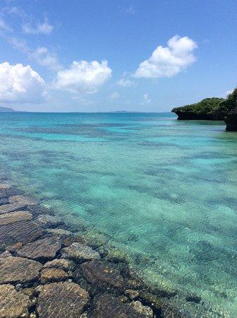 Aragusuku-jima, اليابان: 新城島の海