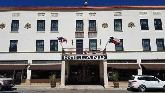Alpine, TX: Holland Hotel