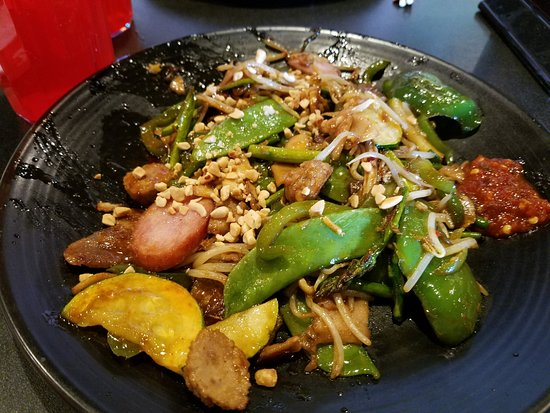 Spanish Fork, Γιούτα: Mongolian BBQ, you choose your own ingredients