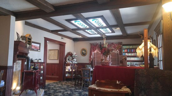 Costello Street Coffee House: Warm, Inside Dining Room Entrance With Period  Furniture