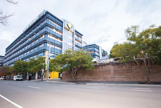 Sydney Olympic Park, Australia: We're hidden away in the Abattoir Heritage Precinct.