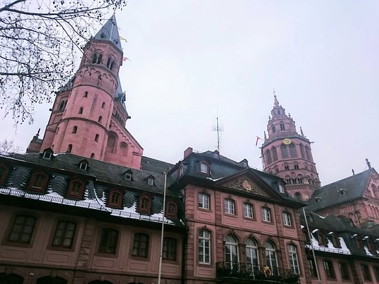 Mainz Cathedral (Dom): ドーム外観
