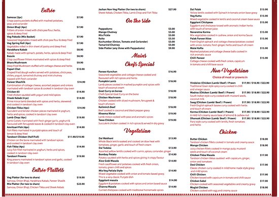 Hallidays Point, Australia: Take Away Menu 2