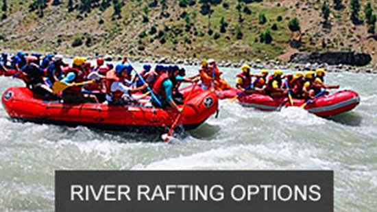 Brown Palace: River Rafting