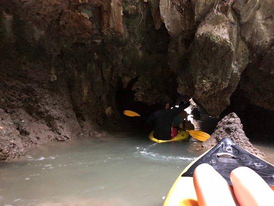 John Gray's Sea Canoe: caves