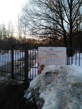 Golitsyno, Rosja: въезд на территорию
