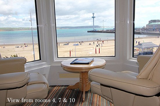 Bay View Hotel Weymouth : sea view from room 4 7 and 10