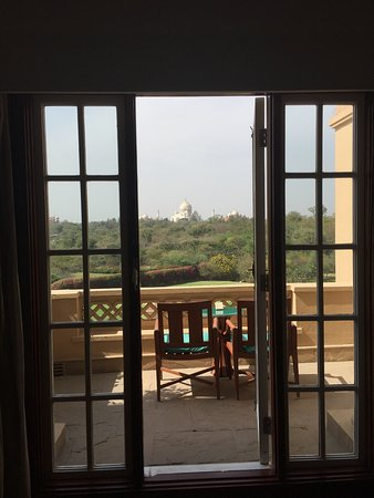 The Oberoi Amarvilas: A room with a view....