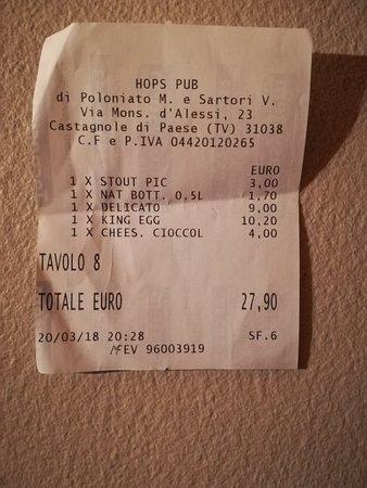 Paese, Italia: HOPS PUB