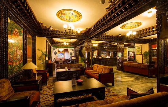 Hotel Tibet: Lobby area