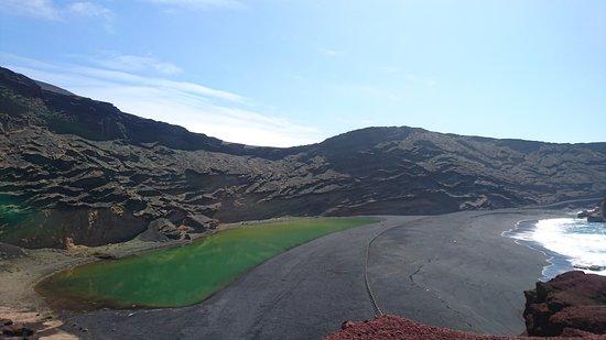 EL Golfo, España: El Lago Verde (green lagoon)