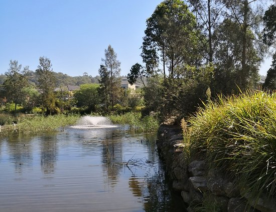 Warriewood, Australia: Waterfountain