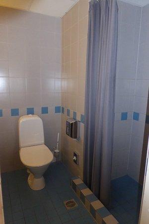 Metropol Hotel Dark Shower Curtain Does Not Let Enough Light Through