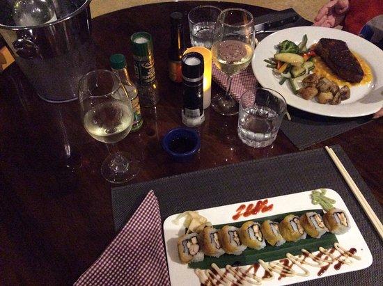 Playa Junquillal, Costa Rica: Soirée sushis et thon du 20 mars 2018